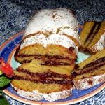 buraczkowe ciasto przekla...