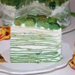 Wiosenny tort nalesnikowy...