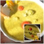 zupa-krem z pora i brokul...