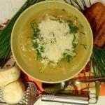 Zupa cebulowa z ziemniaka...