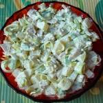 Salatka z kurczaka i pora...